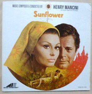 Henry Mancini – Sunflower - 1970 U.S 1st Stereo Press - Near Mint Vinyl LP