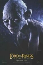 LORD OF THE RINGS ~ RETURN KING GOLLUM ADVANCE 27x39 MOVIE POSTER Andy Serkis