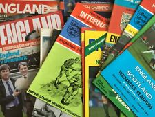 More details for england international home programmes *choose from list* discount available!