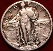 1920-D Denver Mint Silver Standing Liberty Quarter