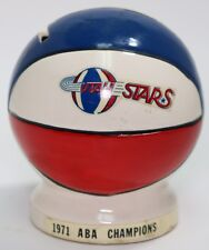 Ultra Rare Utah Stars 1971 ABA Basketball Champions Ceramic Piggy Bank