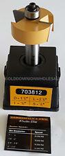 """Sommerfelds Tools for Wood 703812 Rabbeting Router Bit 1/2""""CDE,1-1/2""""CD,1/2""""SH"""