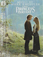 MARK KNOPFLER THE PRINCESS BRIDE SOUNDTRACK CASSETTE ALBUM USA