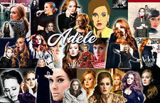 Adele Collage Poster