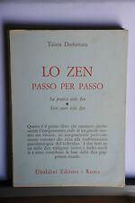 TAISEN DESHIMARU - LO ZEN PASSO PER PASSO  - UBALDINI EDIZIONI - 1° EDIZIONE