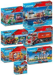Playmobil City Action Cargo Collection - Choose or Collect the full set!