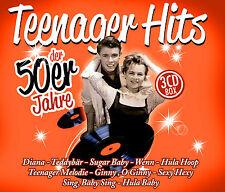 CD 50er Jahre Teenager Hits von Diverse Interpreten 3CDs