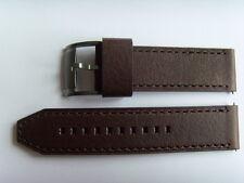 FOSSIL RECAMBIO ORIGINAL PULSERA DE CUERO me1122 Correa Reloj Marrón Brown 24mm