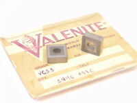 NEW SURPLUS 5PCS. VALENITE  SNMG 433C  GRADE: VC55  CARBIDE INSERTS