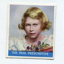 New listing 1937 Godfrey Phillips Tobacco Coronation Of Thier Majesties #25 Heir Presumptive