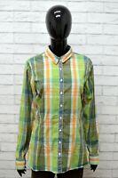 Camicia TOMMY HILFIGER Donna Taglia M Maglia Chemise Blusa Shirt Woman Cotone