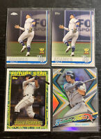 Willy Adames Lot(4) 2019 Topps Tampa Bay Rays