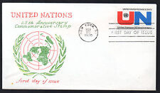 1419 -- United Nations - First Day cover with Virgil Crow cachet