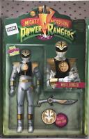 Mighty Morphin Power Rangers #7 BOOM Action Figure Variant Cover D White Ranger