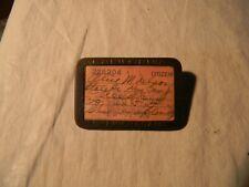 1941 1942 California Fish & Game Badge License Pin