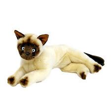 "Cat Siamese Lying Stuffed Animal Plush Toy Blossum 12""/ 30cm Bocchetta"