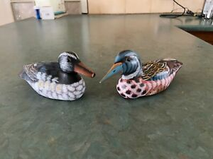 2 x Pottery Ducks