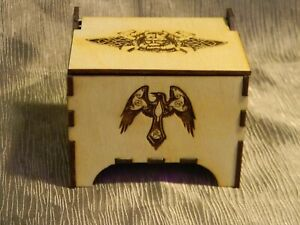 Rune Set With Wood Box, Viking Runes, Wooden Runes, Divination