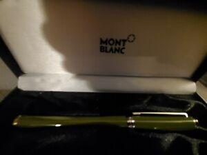 Montblanc Noblesse Oblige Rollerball Pen Olive Green