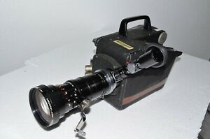 CP-16A 16mm Cine Camera, w/ 12-120 Angenieux Zoom, 400' Mag, Motor, Case & more