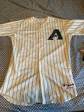 Troy Glaus Game Worn Diamondbacks Jersey Autographed