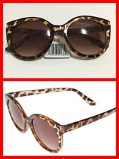 PERVERSE 'Gimme Mo' Cat Eye Sunglasses Brown Lenses Leopard Frame NWT