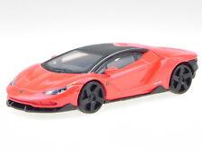 Lamborghini Centenario rojo negro coche en miniatura 30382 Bburago 1:43