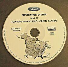 Ford Navigation CD Map 11 FL/Puerto Rico/Virgin Islands 03 04 05 06 Expedition