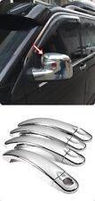 VW T5 TRANSPORTER-MULTİVAN chrome door handle cover & MİRROR COVER S.STEEL
