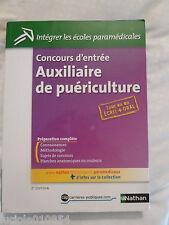 Concours D'entrée Auxiliaire De Puériculture - Epreuves Écrites Et Orales