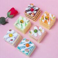 Slow Rising Simulation Cake Kid Children Kitchen Toys Pretend Play Dessert Model
