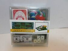 Toysmith Desktop Casino Game Mini Boxed Sealed 2004 Craps Poker Cards