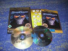 StarCraft 1 e complementari Top tedesco rarità dei 1 parte PC Blizzard Top