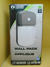 Outdoor LED Wall Mount Wall Pack Light Lithonia Lighting Dusk-to-Dawn Bronze