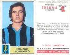 CALCIATORI PANINI A-1971/72*FIGURINA STICKER *ATALANTA-MONDONICO*NEW