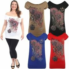 Viscose Tunic Casual Floral Tops for Women