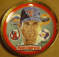 "1993 Nolan Ryan""Ryan Express""Hamilton Mint Limited Edition Collector Plate #38 B"