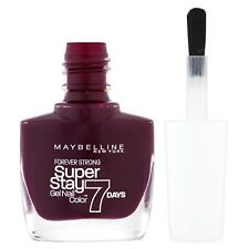 Maybelline SuperStay 7 Days Gel Nail Polish - 05 Extreme Blackcurrant