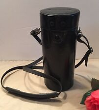 "Vintage Canon Hard Lens Case for Zoom Lenses 6""- 7"" Photography Gear Protection"