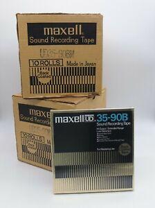 Maxell UD 35 90B Spule Tonband NEU TOP !!! Reinschauen !!!