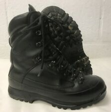 KARRIMOR SF BLACK LEATHER COLD WET WEATHER BOOTS - 7 Medium , British Army