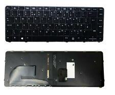 HP ELITEBOOK 740 745 G3 745 840 G3 G4 UK Keyboard Frame TrackPoint + Backlight