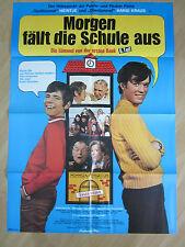Filmposter - Die Lümmel von der ersten Bank - Morgen fällt die Schule aus * 1973