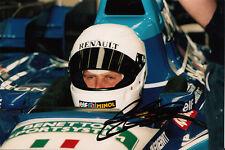 Johnny Herbert Hand Signed Mild Seven Benetton Photo 7x5 2.