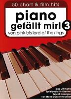 Klavier Noten  Piano gefällt mir 3 - 50 CHART und FILM HITS  Pink - Lord of the