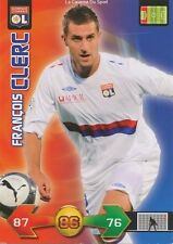 FRANCOIS CLERC # FRANCE LYON OL LYONNAIS CARD CARTE PANINI ADRENALYN FOOT 2010