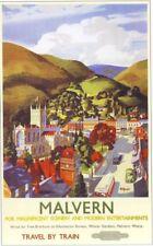 1955 Malvern British Railways Poster A3 Reprint