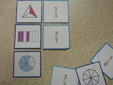 Teaching Resources - Numeracy - Fractions Matching Game