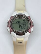 Working Ladies White Timex 1440 Digital Sports Watch  BI