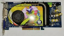 Point of View GeForce 6800 DVI/TV (VGA150210) 128mb AGP Video Card
